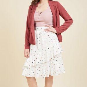 [Modcloth] Undeniable Skirt in Rosebud